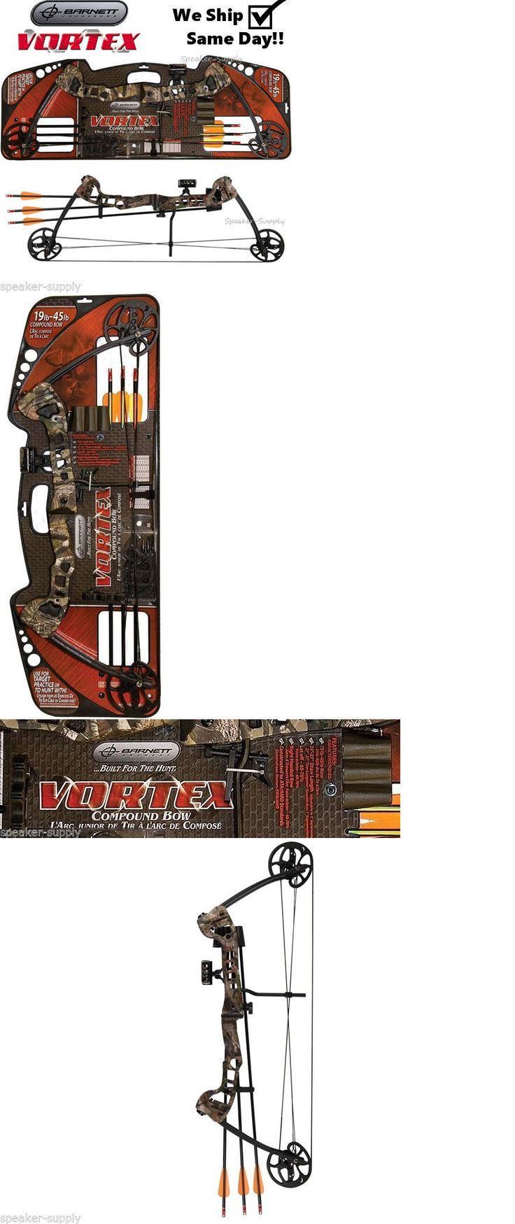 Compound 20838: Barnett Vortex 1105 Camo Bow And Arrow Kit Set Compound Youth Kids Archery Right -> BUY IT NOW ONLY: $125.14 on eBay!
