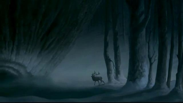 The Lord of the Forest breathes life into the Earth Goddess and awakens creation.... Stravinsky's music from the Firebird.... Still brings tears to my eyes.... From Fantasia 2000