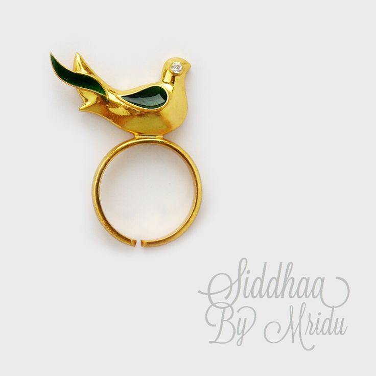 Let Cuckoo Bird Ring do all the talking :)  To shop, follow the link.