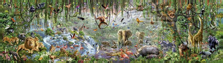 Wildlife 33600 piece #jigsaw #puzzle #Educa World's Largest Puzzle