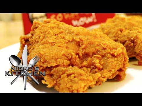 fried chicken recipe with eggs and milk