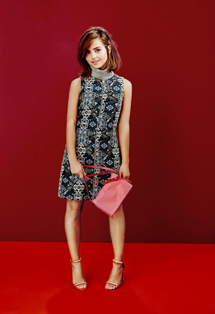 Doctor Who star Jenna Coleman models the best new high street pieces for Stylist