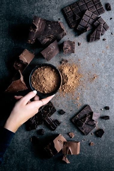 Spelt Chocolate Fondant Cakes | Gather & Feast, food photography, food styling