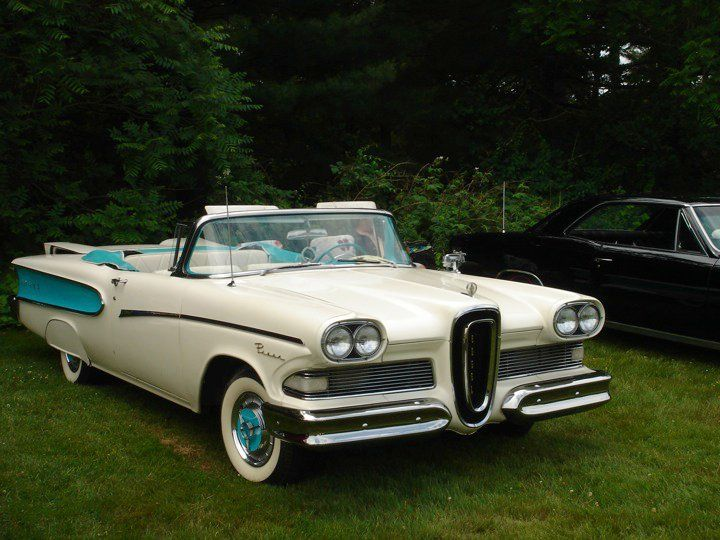 If I could have just one car, it would be a '58 Edsel. My first love.