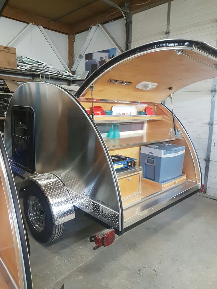 Teardrop Trailer With Bathroom: 208 Best Images About The Teardrop Trailer On Pinterest