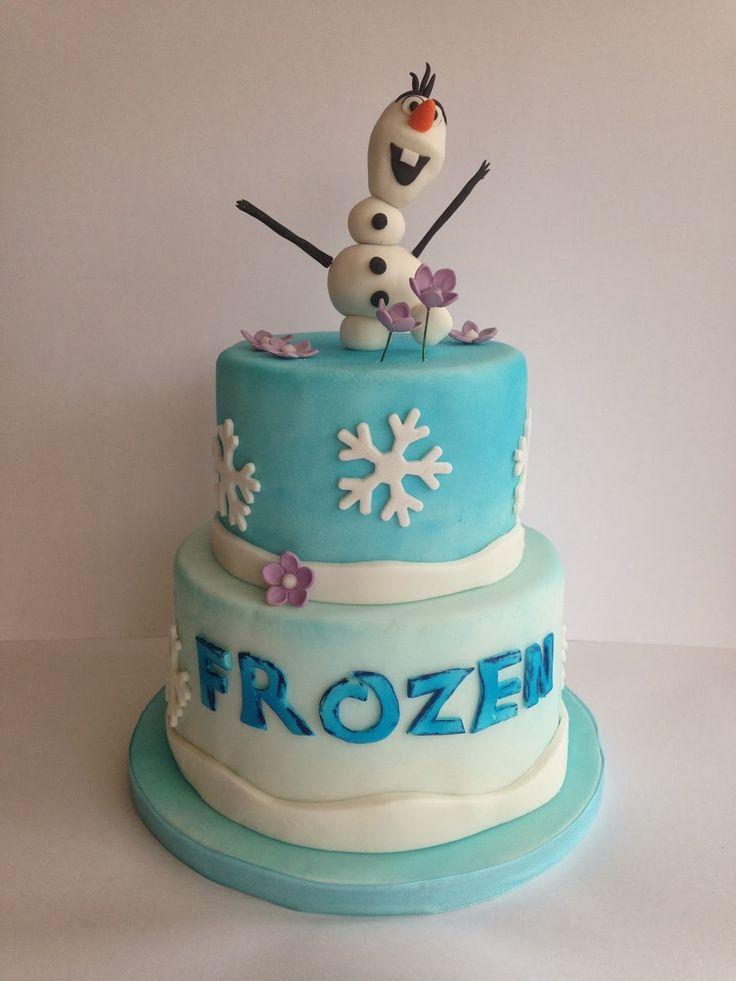 disney's frozen cakes | frozen fondant cake