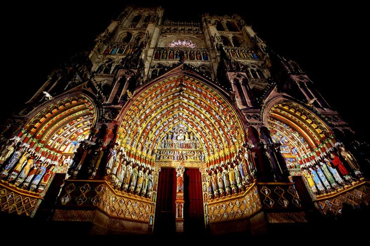 Амьенский собор. Начало строительства 1220 г.