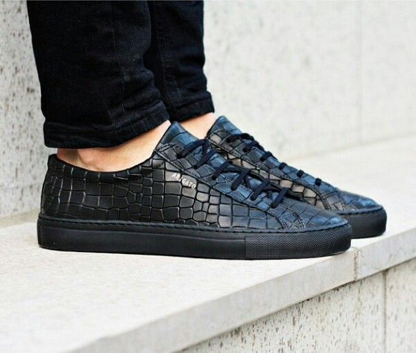 best sneakers 5ab1f 1ba44 Tenis de piel de cocodrilo   zapatos en 2019   Pinterest   Sneakers, Shoes  y Platform sneakers