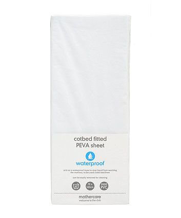 Fitted Cot Bed Waterproof Mattress Protector | waterproof mattress protectors | Mothercare