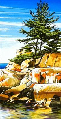 #4 Landscape - Oil on Canvas