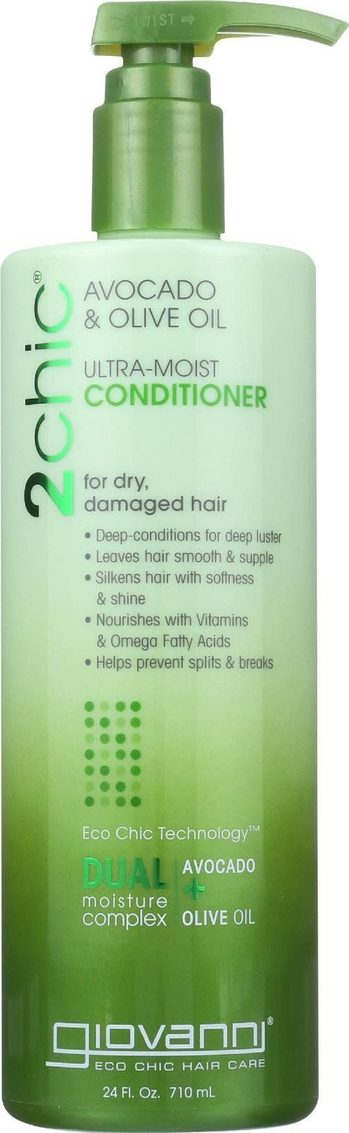 Giovanni Hair Care Products Conditioner - 2chic Avocado And Olive Oil - 24 Fl Oz #BlackHairCareProducts