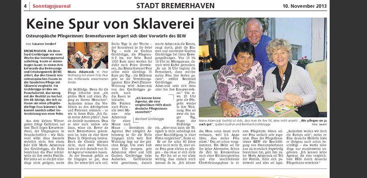 Sonntag Zeitung Bremerhaven