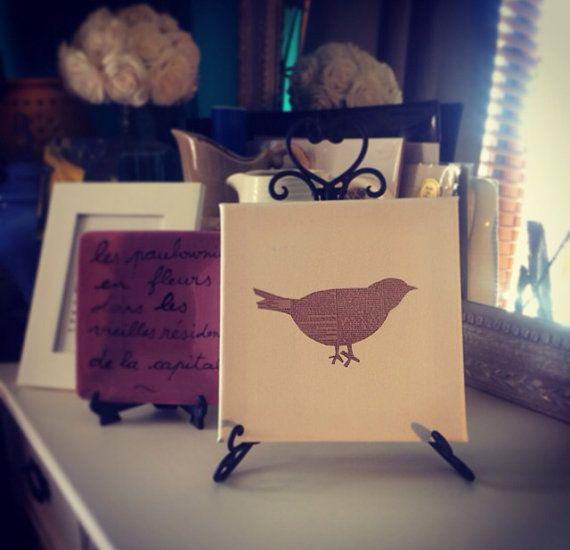 Whimsical bird on Etsy, $10.00 AUD