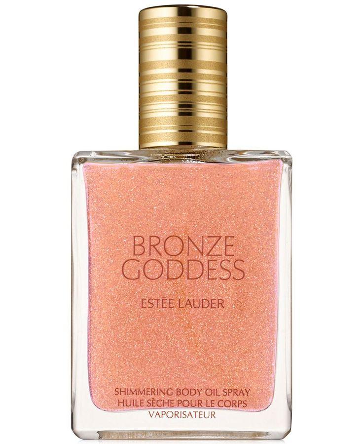 Estee Lauder Bronze Goddess Shimmering Body Oil Spray 2016