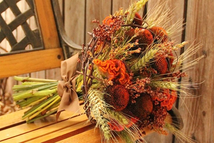 cabbage leaves in fall bouquet - Поиск в Google