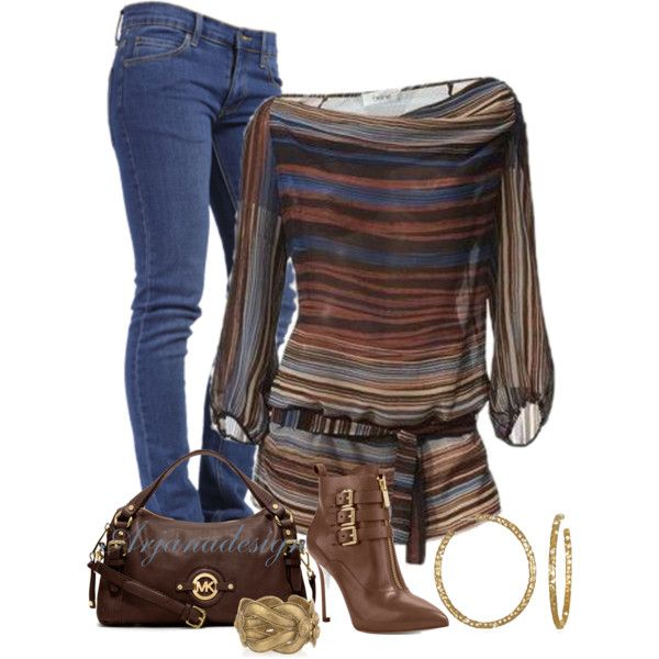 Let's Go to the Movies, created by arjanadesign on Polyvore