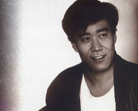 Joe Hisaishi. In his not-hairless days.