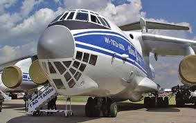 Image result for 11-76 cargo air craft