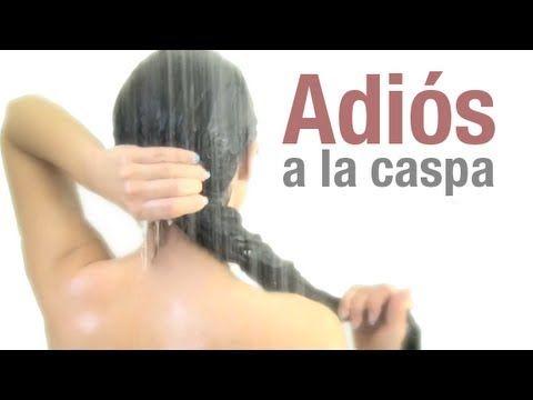 "Adiós a la caspa - Remedio casero < Canal de YouTube ""Secretos de chicas"""