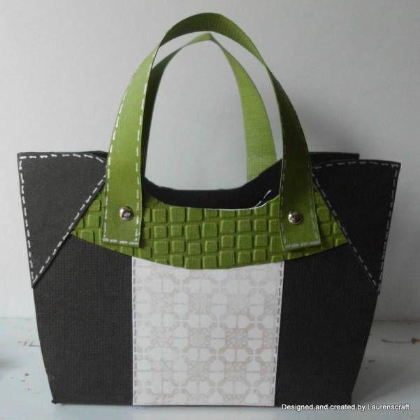 a handbag card... how cute!