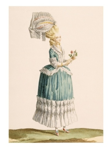 Caraco a La Polanaise, Engraved by Dupin, from 'Galeries Des Modes Et Costumes Francais', C.1778-87