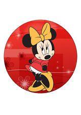 7.5 Disney Minnie Mouse PAPIER GAUFRETTE cake topper