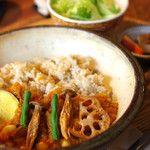 ヒトト - 野菜と豆のキーマカレーセット