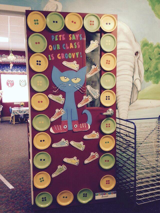 Pete the Cat Door Decor Fall 2015 Mrs. Rockwell | ECE ...