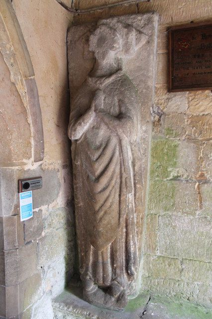 Priest Effigy, St Martin's church, Ancaster, Lincolnshire