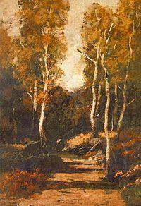 Paál László:Erdei út (1876) Magyar Nemzeti Galéria