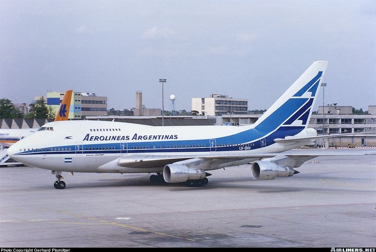 Aerolineas Argentinas LV-OHV Boeing 747SP-27 aircraft picture