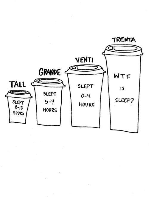 I like coffee.i miss it in large quantities