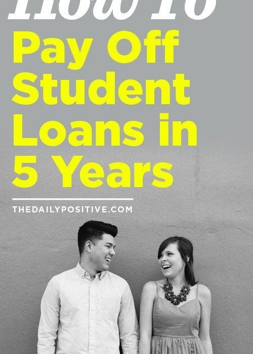 How To Pay Off Student Loans in 5 Years | Debt Payoff | Paying off student loans, School loans ...