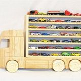 Wooden Hanging Car Storage Shelf