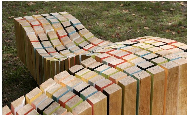 outdoor bench. Pinned to Garden Design - Outdoor Furniture by Darin Bradbury.