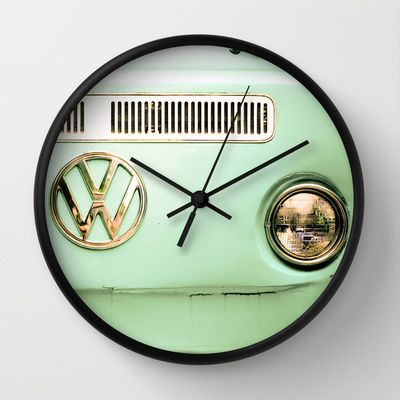 Summer of Love Wall Clock by Olivia Joy StClaire - $30.00 clock #VW #clock