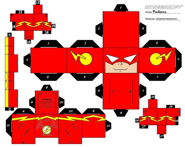 Flash Cubee by Pankismo.deviantart.com on @deviantART