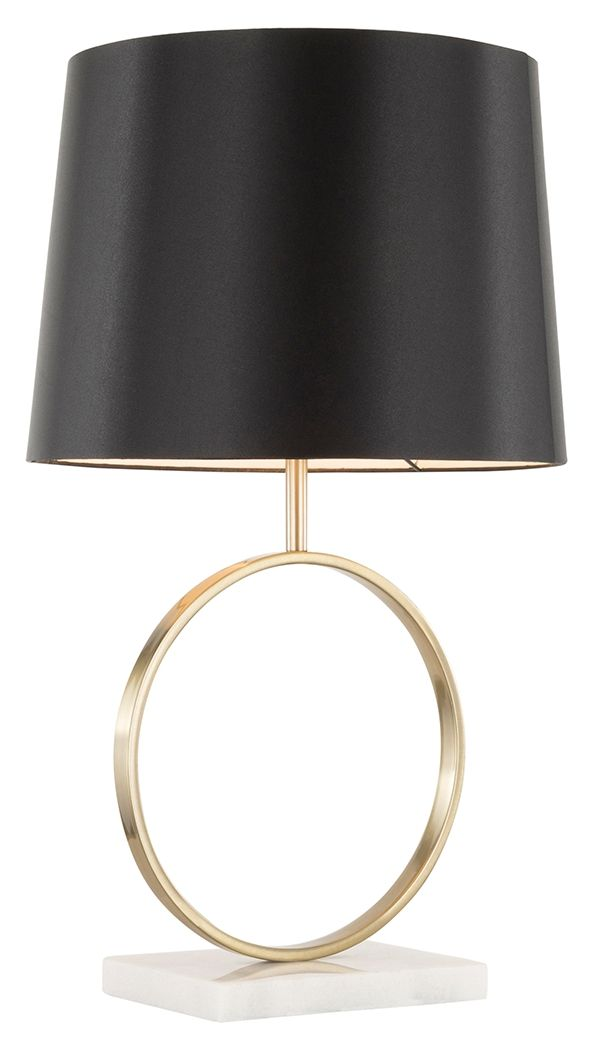 Contemporary Table Lamp Ashley Furniture Homestore In 2021 Gold Table Lamps Living Room Contemporary Table Lamps Black And Gold Living Room