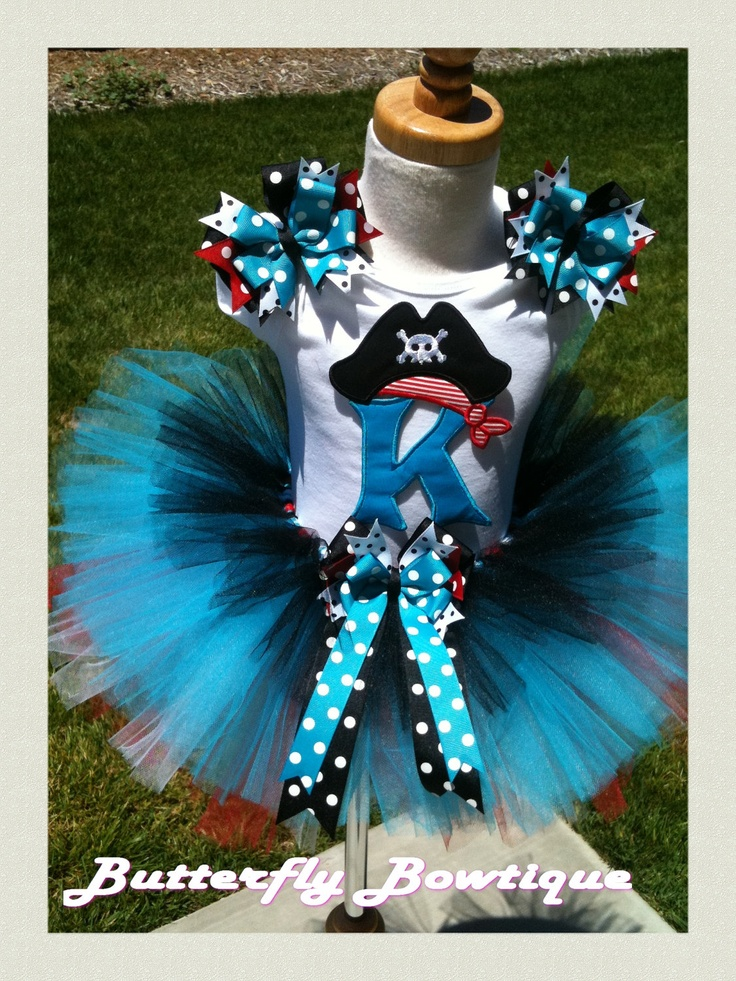 Pirate Party TuTu Set by ButterflyBowtique on Etsy: Pirate Party, Costume Ideas, Bday Party, Brother, Party Tutu, Tutu Ideas, Craft Ideas