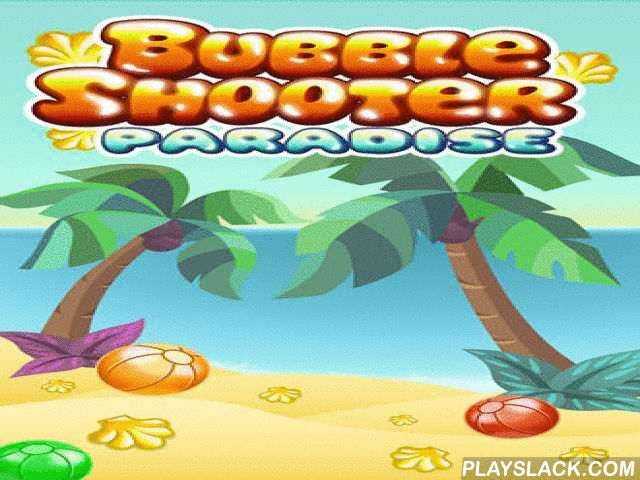 Bubble Shooter: Paradise. Bubble Summer  Android Game - playslack.com , Shoot colourful globules on good summer beach of a heavenly equatorial islet. stroke up thousands of globules in this Android game! Use moving  propel to shoot colourful globules so they make teams of globules of the same color. They will explode and you will attain scores. The more globules you stroke up simultaneously, the more scores you attain. Also you can get a collection of bonuses and boosts.
