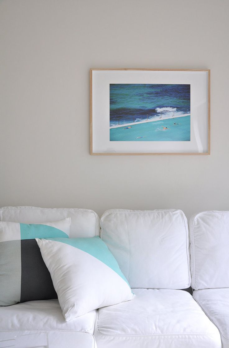 Create the custom frame look with purchased frame and matt