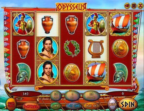 Игровые автоматы в казино Вулкан на деньги Odysseus.  Увлекательный игровой автомат Odysseus позволит вам не только поближе познакомиться с героем Троянской войны, но вывести крупные суммы денег из казино Вулкан.