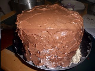 ... dessert recipes: Devil's Food Cake with Milk Chocolate Frosting
