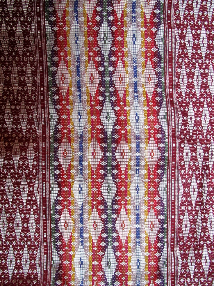 kain songket Bali, Indonesian fabric