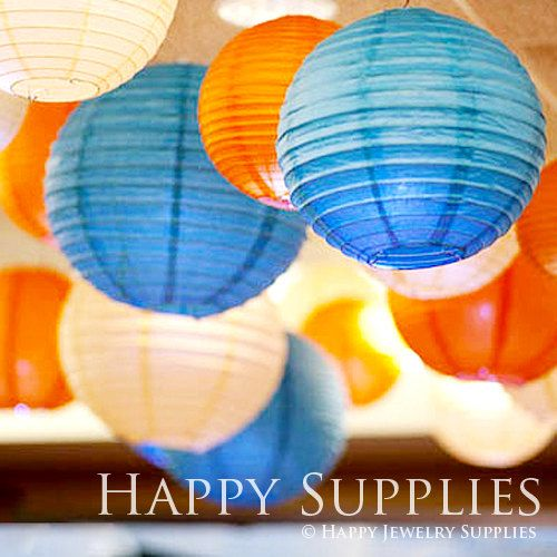 "By 5 Get 1 Free / 30cm 12"" Paper Lantern / Wedding Decoration / Wedding Pom Poms / Party Decoration on Etsy, $6.00"
