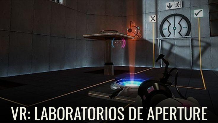 Entra a los laboratorios de Aperture con la ayuda del VR de Valve Steam http://www.enter.co/especiales/videojuegos/un-demo-vr-de-valve-te-mete-en-los-laboratorios-de-aperture/