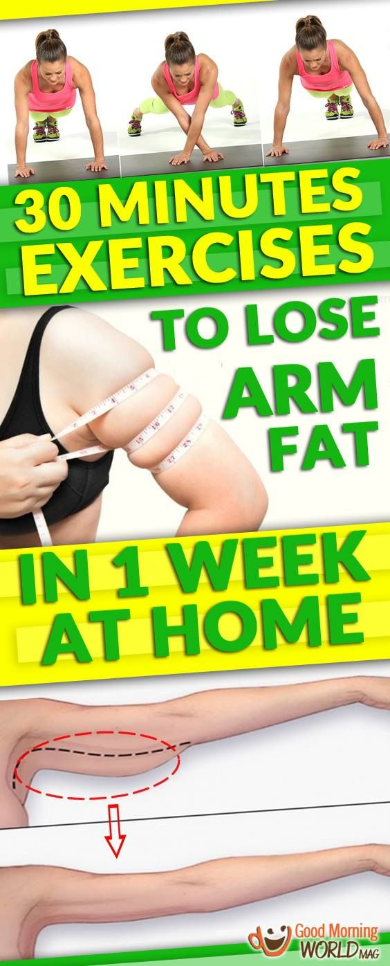 30 MINUTES EXERCISES TO LOSE ARM FAT IN 1 WEEK AT HOME (NO EQUIPMENT REQUIRED) Tips to prevent Arm Fat  Many people would say why cure something if you can prevent it in the first place and they would be right. Here is what you can do to stop the fat accumulation before it's too late.