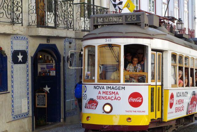 fotos&travels : Lisboa - tramwaj nr 28