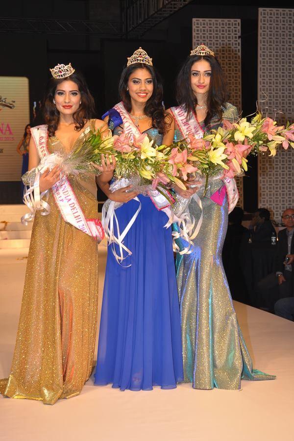 Congrats Apeksha Porwal has been crowned fbb Femina #MissIndia Delhi 2015. Aditi Arya - 1st runner up  Rushali Rai - 2nd runner up