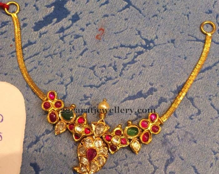 Jewellery Designs: Antique Choker 15 Grams